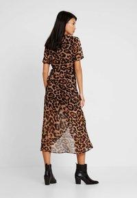 Bardot - LEOPARD WRAP DRESS - Maxi dress - multi-coloured - 3