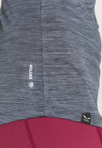 Salewa - PUEZ DRY TEE - Basic T-shirt - premium navy melange - 4