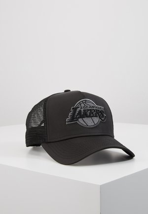 TONAL AFRAME TRUCKER - Gorra - black