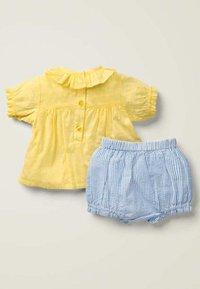 Boden - WEBSPIELSET - Shorts - blue, light pink - 1