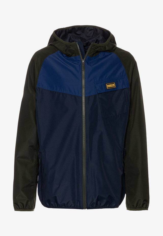 BOYS ROW - Veste imperméable - navy