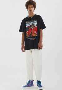 PULL&BEAR - THE NOTORIOUS BIG  - T-shirt con stampa - black - 4