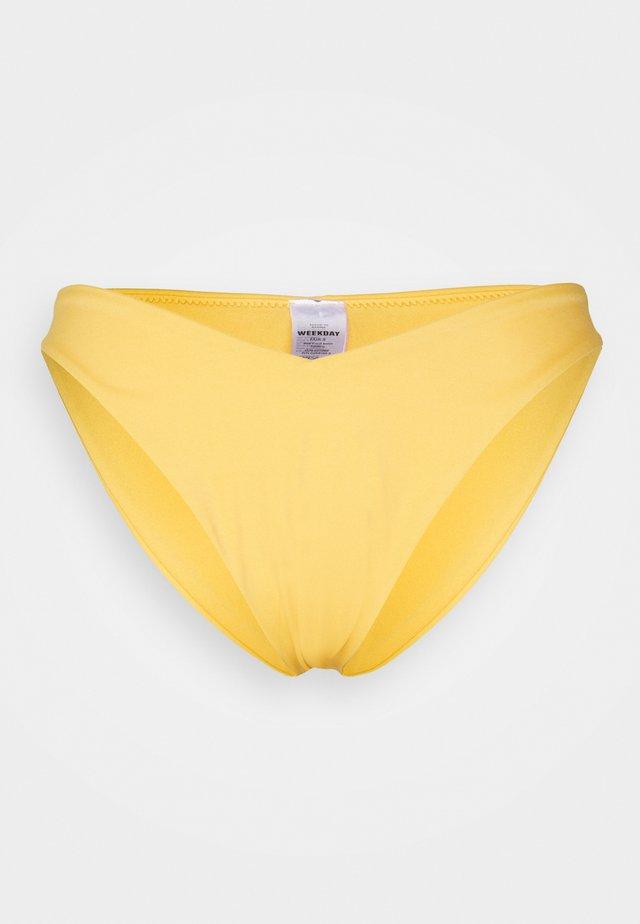 AVA V CUT CHEEKY SWIM BOTTOM - Bikinibroekje - yellow