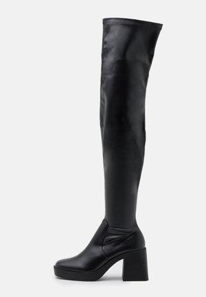 JOYEN - Laarzen met hoge hak - black
