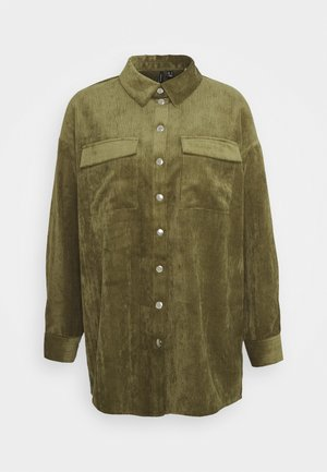VMYVONNE - Button-down blouse - ivy green