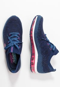 Skechers Sport - SKECH-AIR ELEMENT - Sneaker low - navy/hot pink - 3