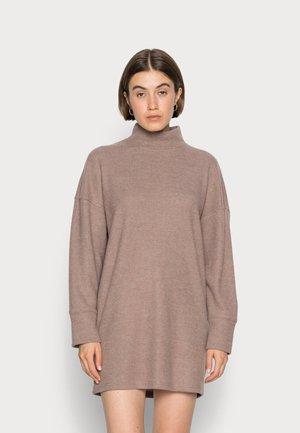 COZY - Jumper dress - tan