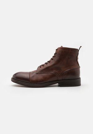 PALMER - Lace-up ankle boots - brown