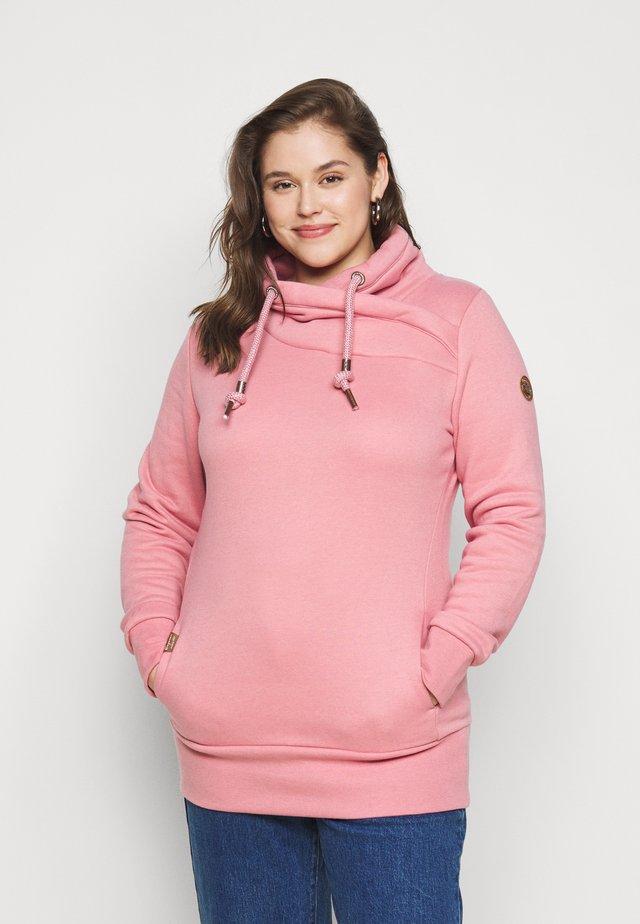 NESKA PLUS - Felpa con cappuccio - pink