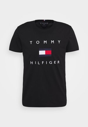 FLAG TEE - T-shirts print - black