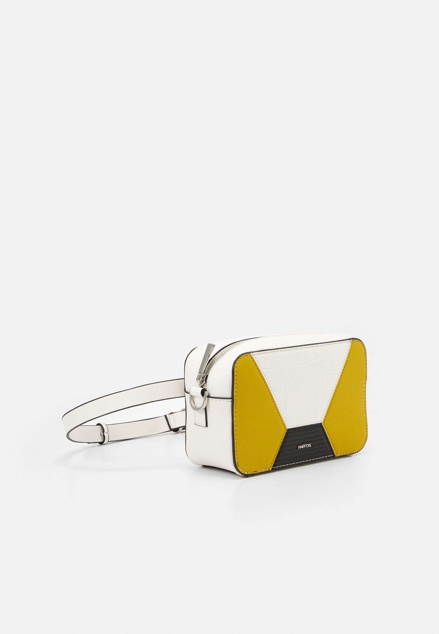 PARFOIS CROSSBODY BAG RACHEL - Skulderveske - white/hvit aYw9pH3rNj15uUV