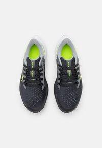 Nike Performance - AIR ZOOM PEGASUS 38 UNISEX - Competition running shoes - dark smoke grey/volt/smoke grey/light smoke grey - 3