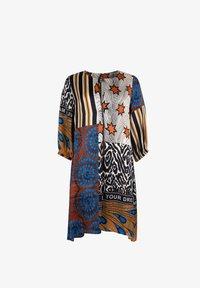 Grace - AFRICAN PATCH - Day dress - terra - 2