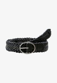 LASCANA - Braided belt - black - 2