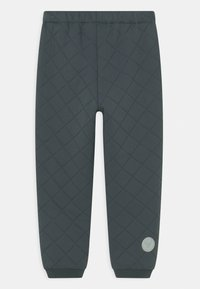 Wheat - THERMO PANTS ALEX UNISEX - Outdoor trousers - dark blue - 1