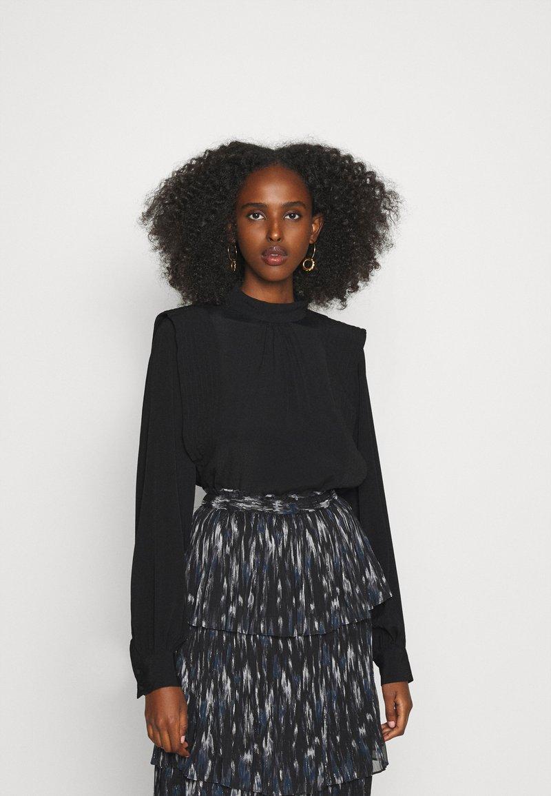 Bruuns Bazaar - LILLI NOME BLOUSE - Blouse - black