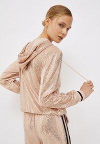 Liu Jo Jeans - Zip-up sweatshirt - peach - 2