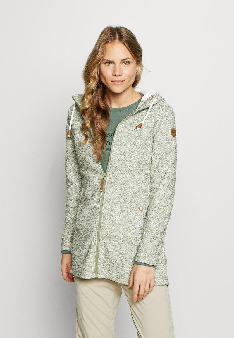 Icepeak - AURAY - Zip-up hoodie - antique green