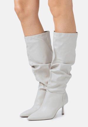 ISLAY - High heeled boots - offwhite
