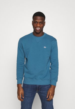 PLAIN CREW - Sweatshirt - teal