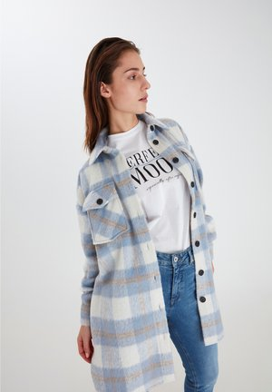 Classic coat - cashmere blue