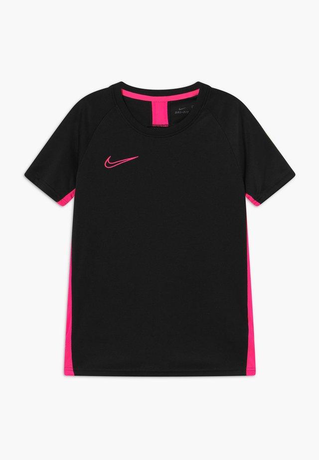DRY  - Funktionströja - black/hyper pink