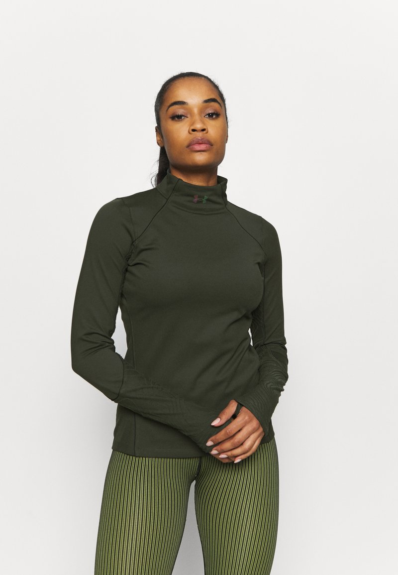 Under Armour - RUSH - Sports shirt - baroque green