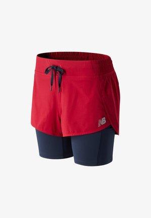 IMPACT RUN - Sports shorts - neo crimson