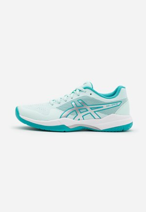 GEL-GAME 7 - Allcourt tennissko - bio mint/pure silver
