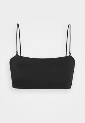 BAY SWIM - Bikiniöverdel - black