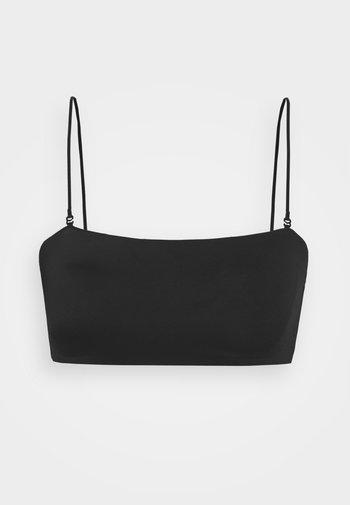 BAY SWIM - Bikini top - black