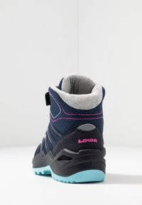 Lowa - MADDOX WARM GTX - Winter boots - navy/beere - 4