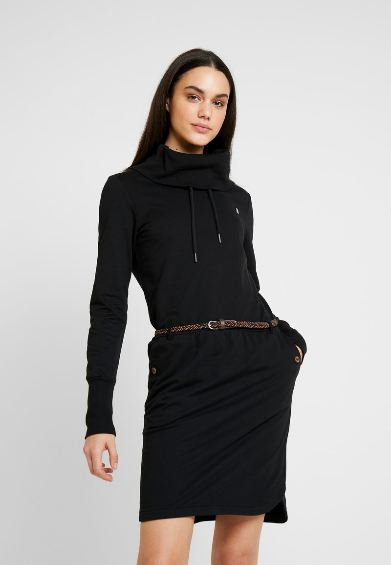 Ragwear - LAURRA - Korte jurk - black