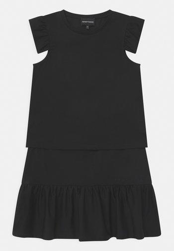 SET - Print T-shirt - dark blue
