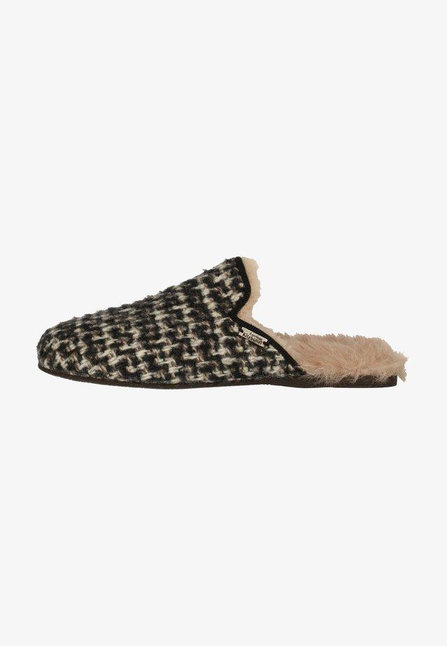 Pantoffels - anthrazit