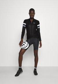 8848 Altitude - CHERIE JACKET LEOPARD - Training jacket - black - 1