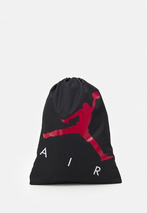 JAN AIR DRAWSTRING GYM SACK - Drawstring sports bag - black
