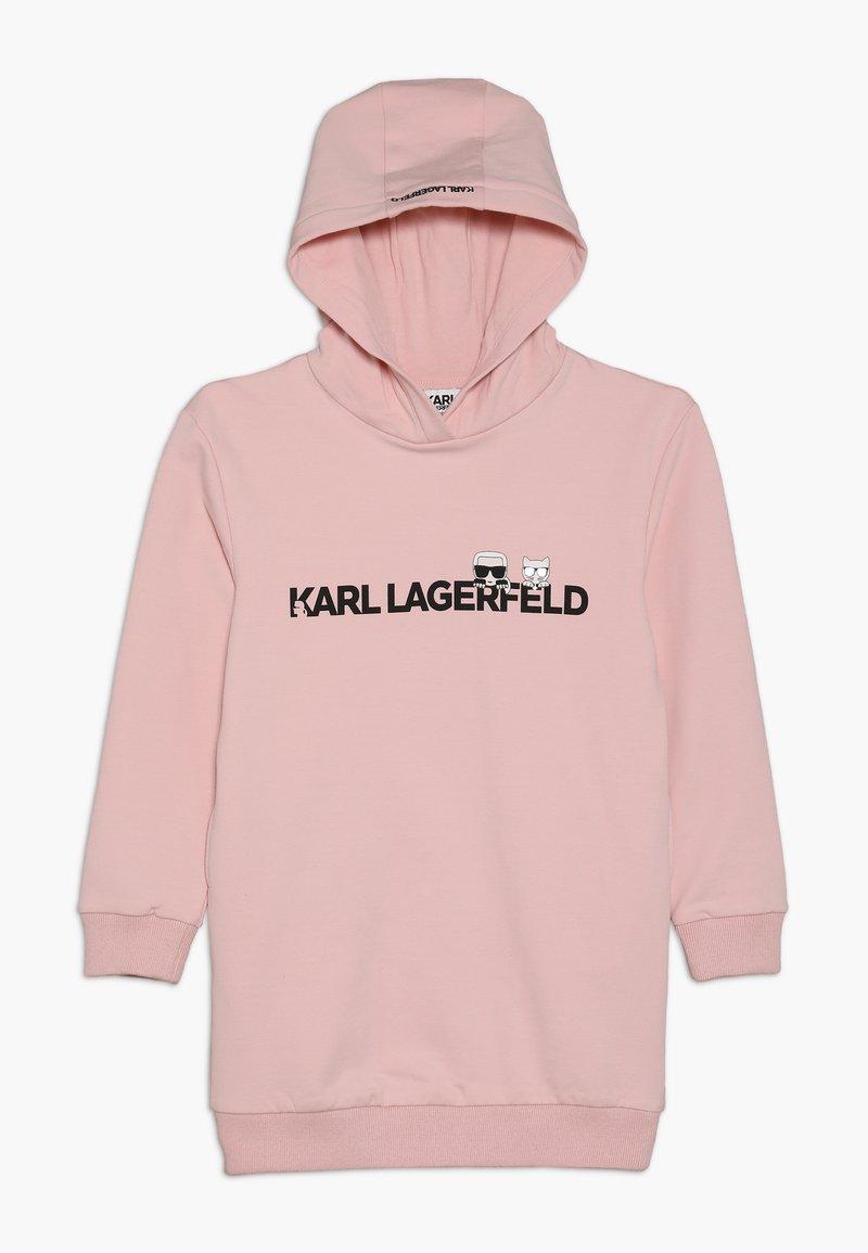 KARL LAGERFELD - Jersey dress - alt rose