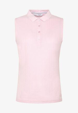 SLEEVELESS PERFORMANCE - Polo - pale pink