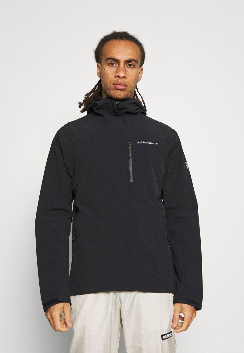 Peak Performance - XENON JACKET - Hardshell jacket - black