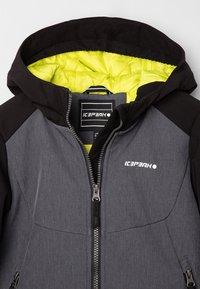 Icepeak - KAPOLEI JR - Soft shell jacket - dunkel grau - 2