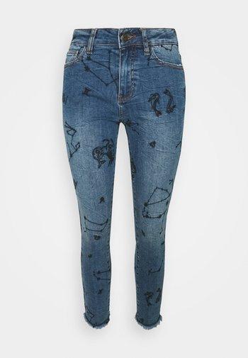 AUSTRA - Skinny džíny - blue