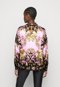 Versace Jeans Couture - LADY SHIRT - Button-down blouse - black/pink confetti - 2