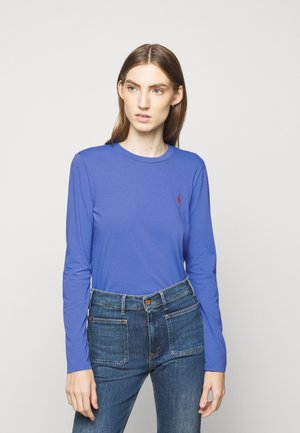 Long sleeved top - resort blue