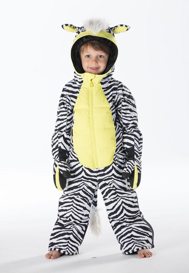 WeeDo - Snowsuit - zebra white
