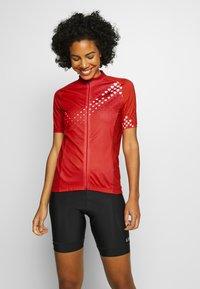 Gore Wear - GORE® C3 DAMEN HEART TRIKOT - T-Shirt print - hibiscus pink/white - 0