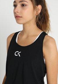 Calvin Klein Performance - TANK LOGO - Funkční triko - black - 4