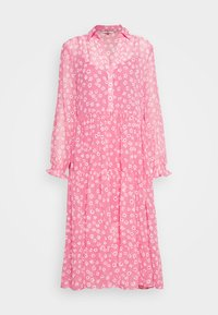 Tommy Jeans - FLORAL MIDI SHIRT DRESS - Sukienka letnia - floral/glamour pink - 4