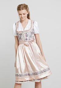 Krüger Dirndl - Oktoberfestklær - rose - 0