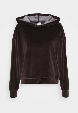 NMABBY HOODIE TALL - Sweatshirt - chocolate brown
